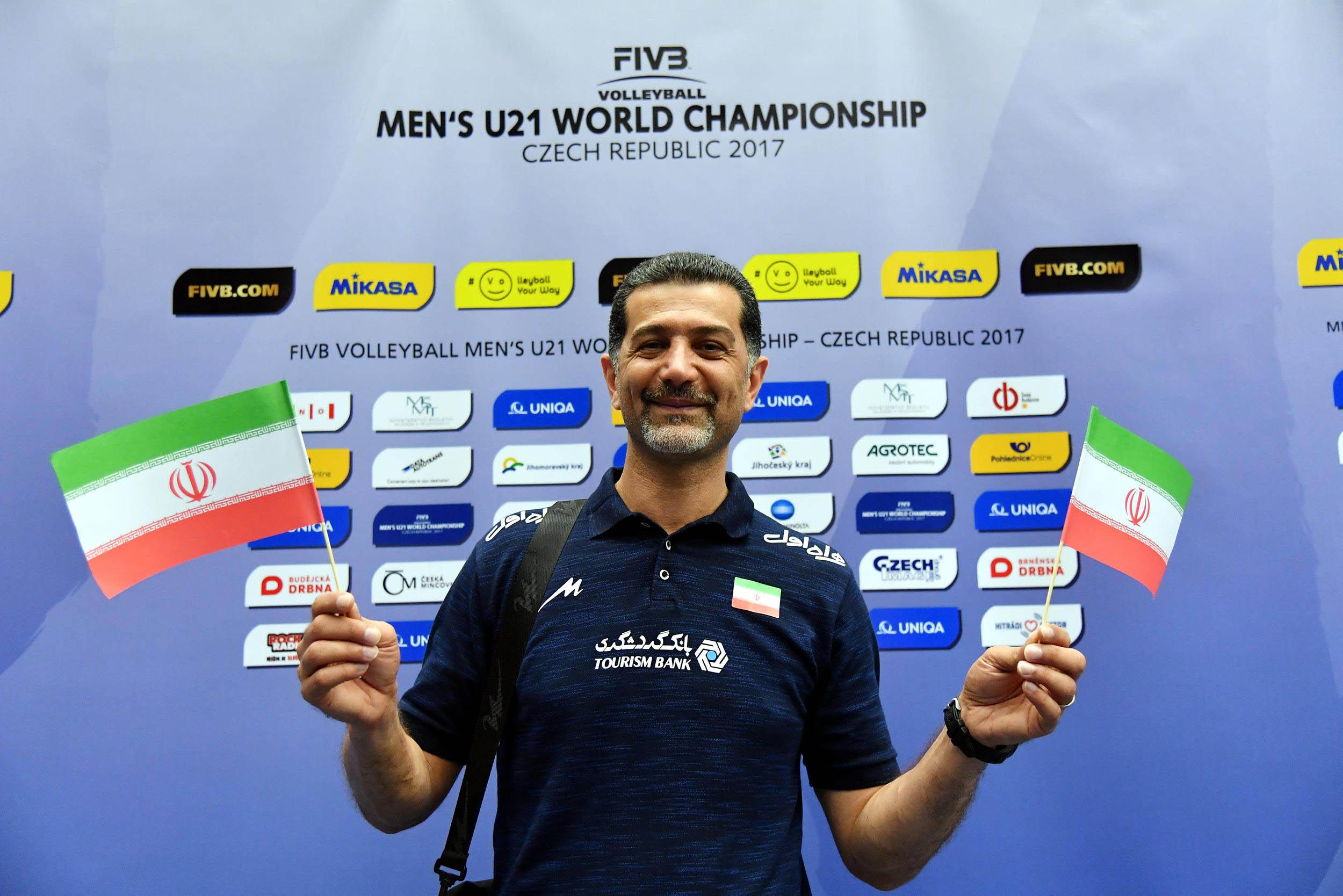 Post Match Iran Ukraine Fivb Volleyball Men S U21 World Championship 2017